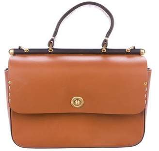Ghurka Smooth Leather Satchel