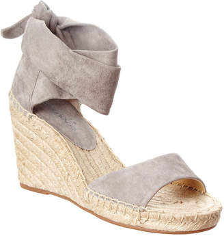 Splendid Jessica Suede Wedge Sandal