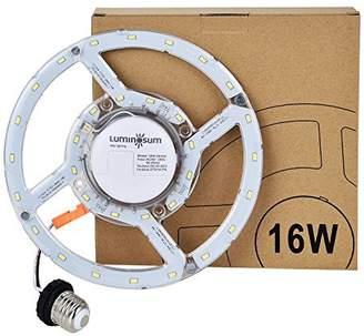 Retrofit LUMINOSUM LED Kit for 12-Inch Flush Mount Ceiling Light, (120W Equivalent), 1450lm, 5000K, 90-265V, Circline Bulb Replacement for Ceiling Light, Fan Light, Downlight