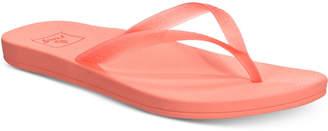 Reef Escape Lux Jelly-Strap Flip-Flop Sandals Women's Shoes