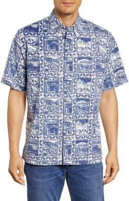 Reyn Spooner 2019 Commemorative National Parks Short Sleeve Button-Down Shirt