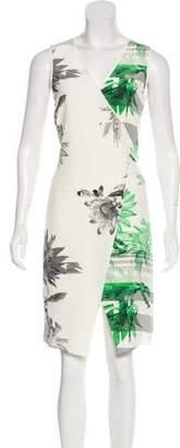 Tibi Printed Knee-Length Dress