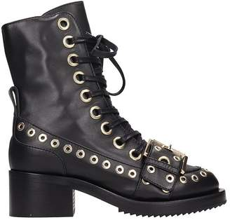 N°21 N.21 Black Leather Boots