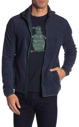 Original Penguin Hooded Fleece Jacket