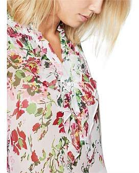 Equipment Samine Floral Shirt