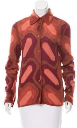 Fendi Mohair-Blend Knit Top