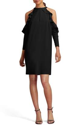 ECI Cold Shoulder Shift Dress