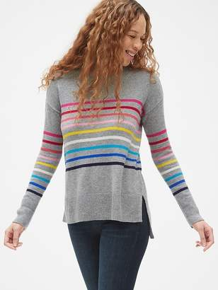 Gap Crazy Stripe Crewneck Pullover Sweater Tunic