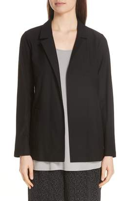 Eileen Fisher Classic Notch Collar Jacket