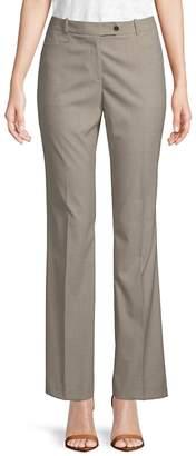 Calvin Klein Women's Plaid Flared Pants