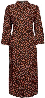 Dorothy Perkins Womens Amber Animal Print Shirt Dress