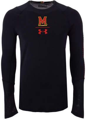 Under Armour Men's Maryland Terrapins Long Sleeve Raid Training T-Shirt