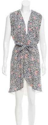 Balenciaga Silk Wrap Dress
