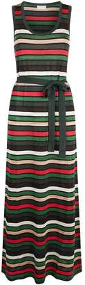 Claudie Pierlot Striped Maxi Dress