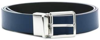 Paul Smith Black Label adjustable buckle belt