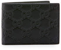 Gucci Signature Leather Bi-Fold Wallet