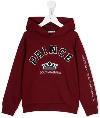 Dolce & Gabbana Prince print hoodie