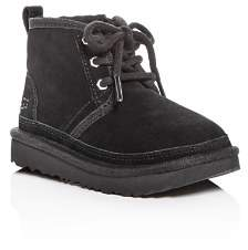 UGG Boys' Neumel II Suede Lace Up Boots - Walker, Toddler