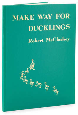 "Graphic Image Make Way For Ducklings"" Children's Book by Robert McCloskey"