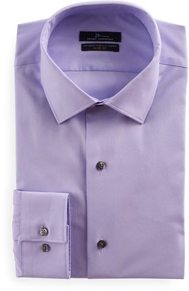 Marc Anthony Men's Slim-Fit Non-Iron Stretch Dress Shirt