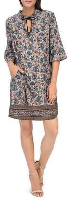 Bobeau B Collection by Magie Necktie Dress