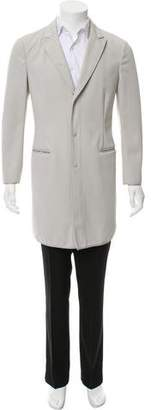 Emporio Armani Button-Up Chester Coat