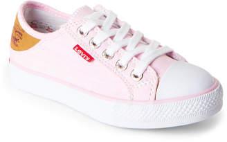 Levi's Toddler/Kids Girls) Pink Stan Buck Low-Top Sneakers
