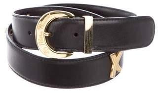 Paloma Picasso Leather Embellished Belt