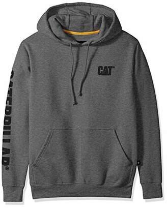 Caterpillar Men's Trademark Banner Hooded Sweatshirt