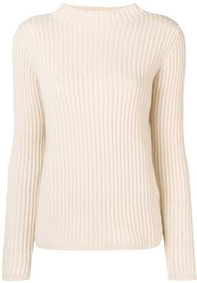 Allude ribbed sweater