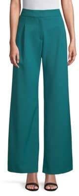 Carolina Herrera Classic Wide-Leg Pants