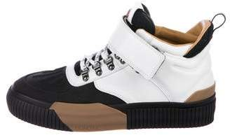 Moncler Cyprien Leather Sneakers w/ Tags