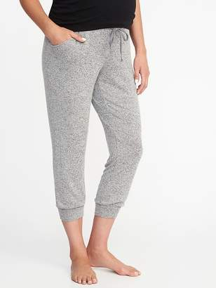 Old Navy Maternity Luxe Cropped Lounge Pants