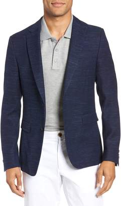 BOSS Nobis Trim Fit Wool Blend Blazer