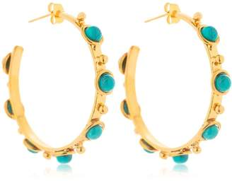 Petite Candies Hoop Earrings