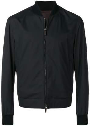 Ermenegildo Zegna zipped bomber jacket