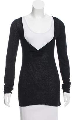 Kristensen Du Nord Texture Long Sleeve T-Shirt