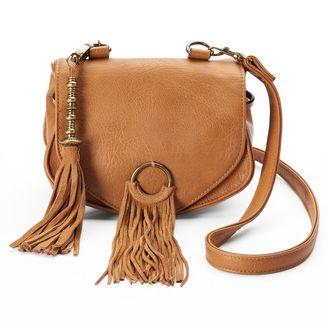 Mudd® Fringe Crossbody Bag $45 thestylecure.com