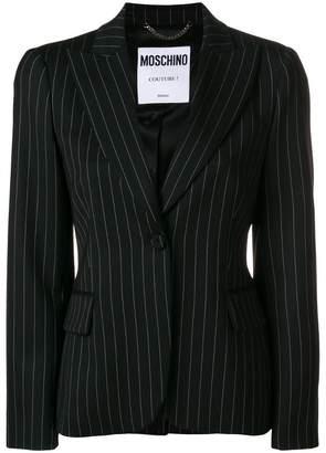 Moschino tailored striped blazer