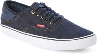 Levi's Navy Monterey Denim Low-Top Sneakers