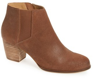 Women's Lucky Brand 'Tulayne' Chelsea Zip Boot $128.95 thestylecure.com