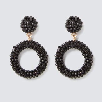 Seed Heritage Mini Beaded Drop Earrings