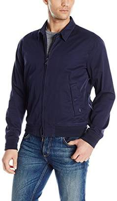 Armani Jeans Men's Regular Fit Twill Bomber Jacket
