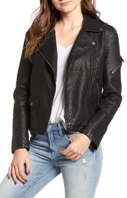 LIRA Camaro Faux Leather Jacket