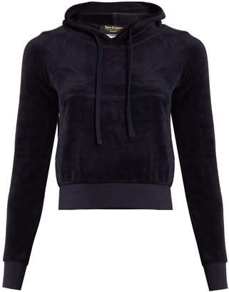 VETEMENTS X Juicy Couture hooded velour sweatshirt $880 thestylecure.com