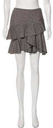 Rachel Zoe Ruffled Mini Skirt