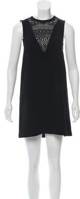 Rebecca Minkoff Lace-Trimmed Shift Dress