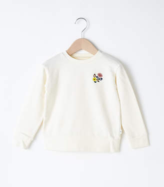 SLY (スライ) - Kids Flower Embroidery Sw Tops