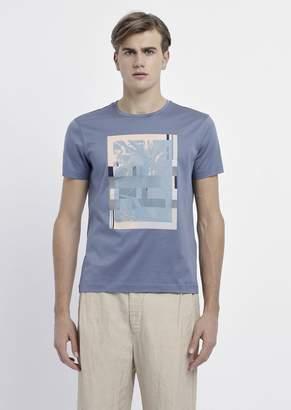 Emporio Armani Pure Cotton T-Shirt With Graphics