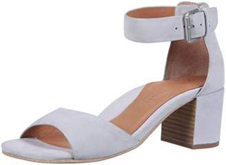 Gentle Souls by Kenneth Cole Women's Christa Mid-Heel Sandal with Ankle Strap Sandal